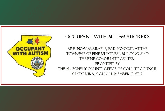 Allegheny County Occupant with Autism