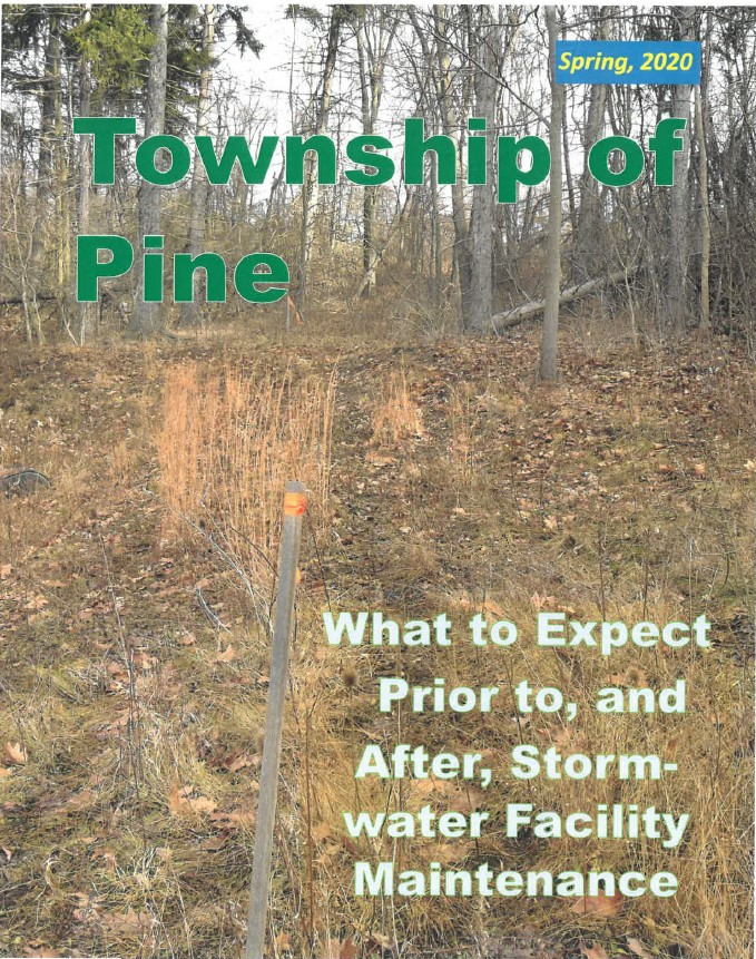 2020 Twp Pine What to Expect Stormwater Cleanup
