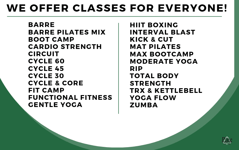 Classes we offer2