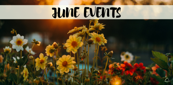 JUNE Events PCC Happenings