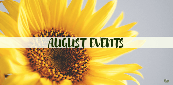 August Events PCC Happenings