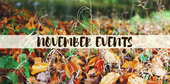 November Events PCC Happenings