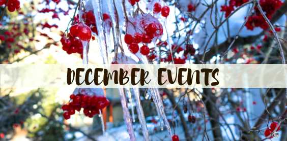 December Events PCC Happenings